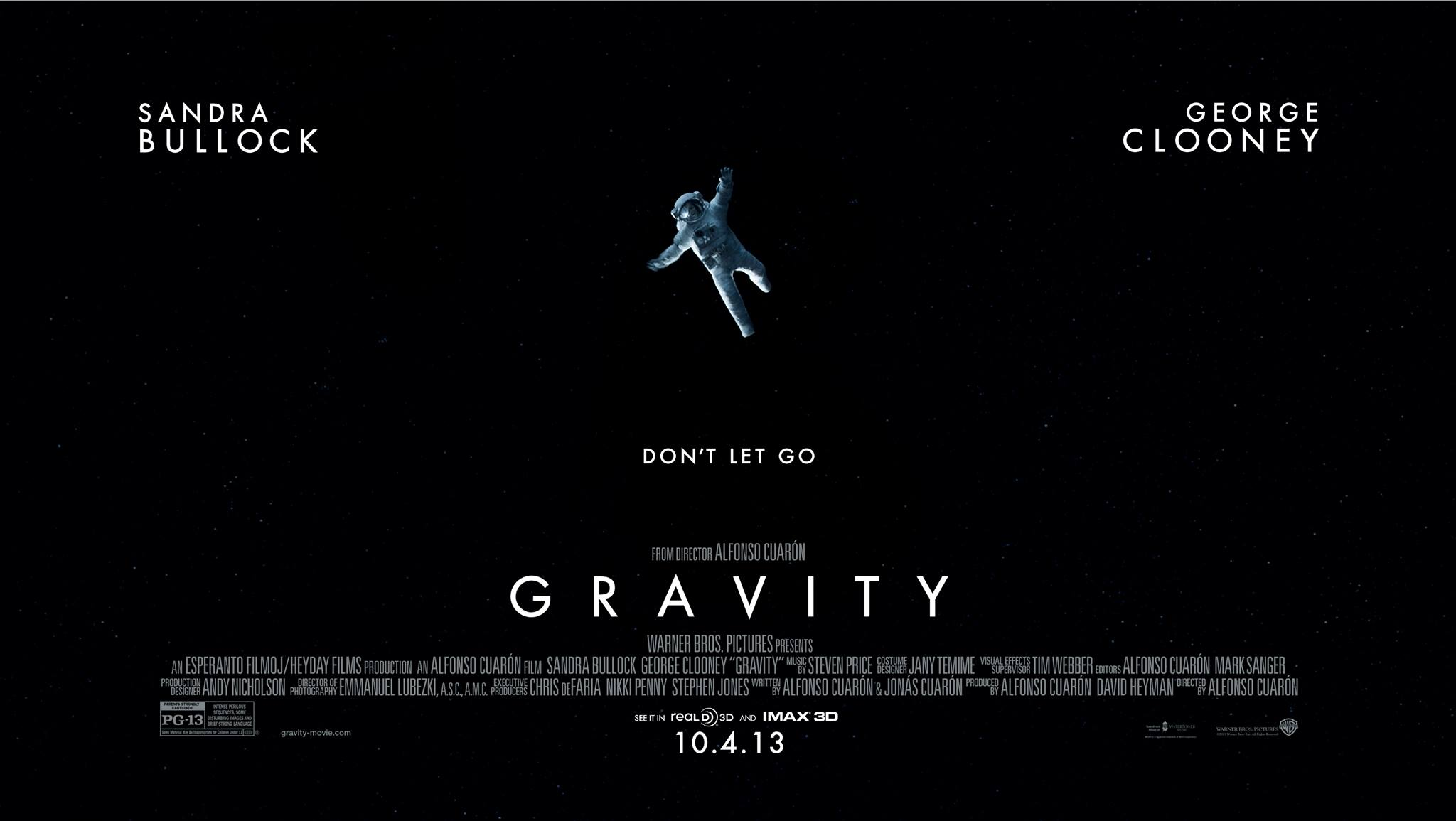 list of sci fi movies gravity